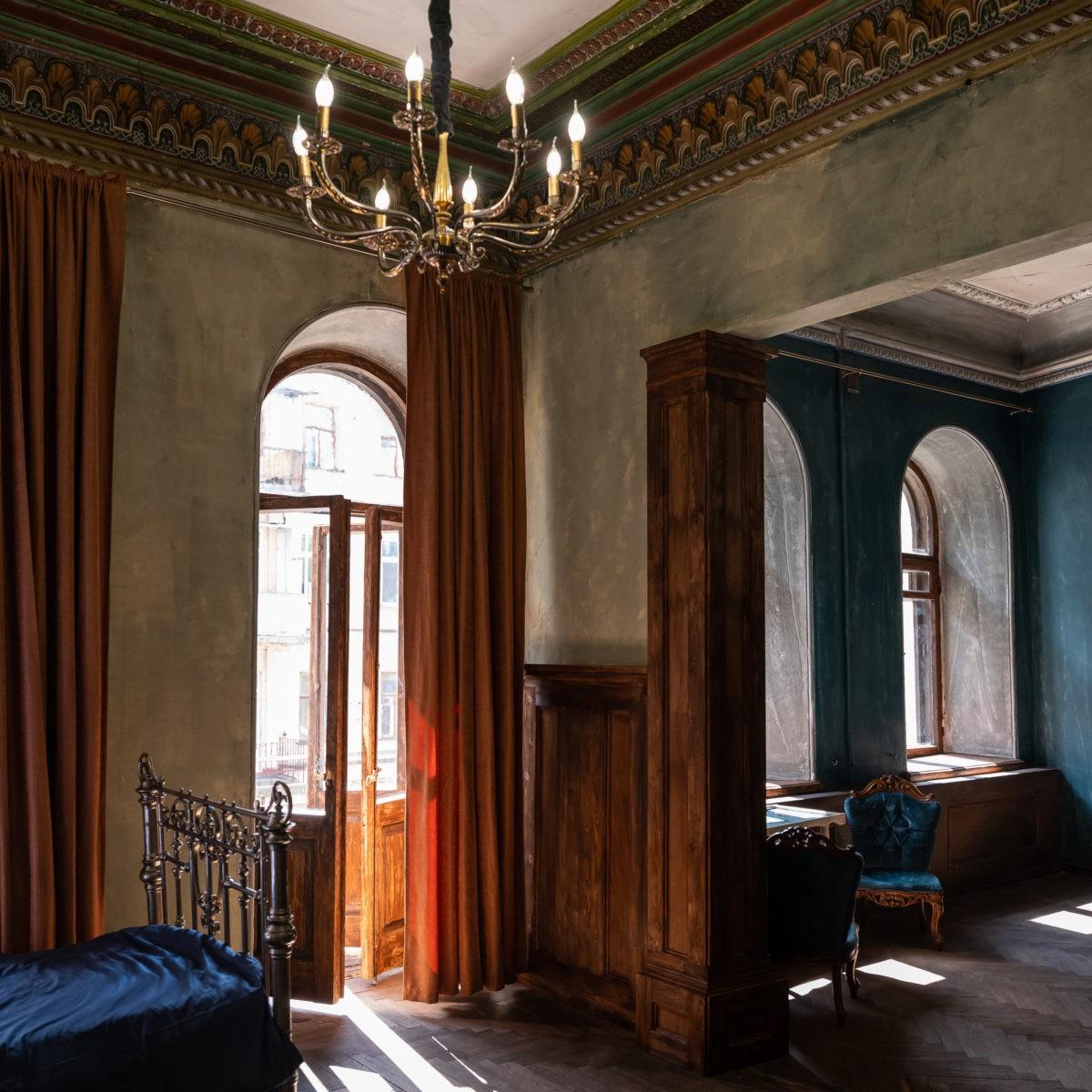 Аренда стильного зала в винтажном стиле для фотосессий| Фотостудия F11 Studio